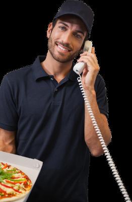 Prenotazione telefonica dell'asporto RistorAndro