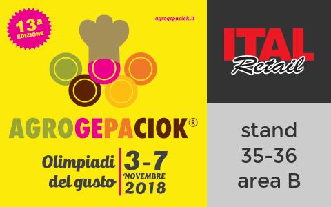 RistorAndro ad AGROGEPACIOK - stand Italretail