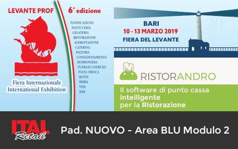 RistorAndro partecipa a Levante Prof 2019