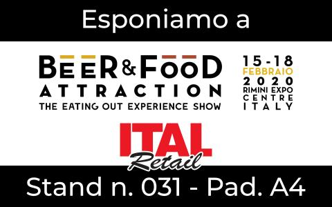 RistorAndro in fiera a Beer&Food Attraction 2020 Rimini