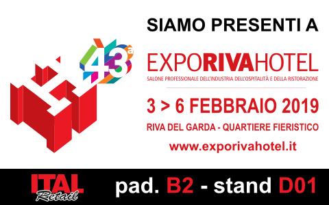 Tantissime novità per RISTORANDRO a Expo Riva Hotel 2019