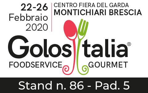 RistorAndro in fiera a Golositalia&Aliment 2020