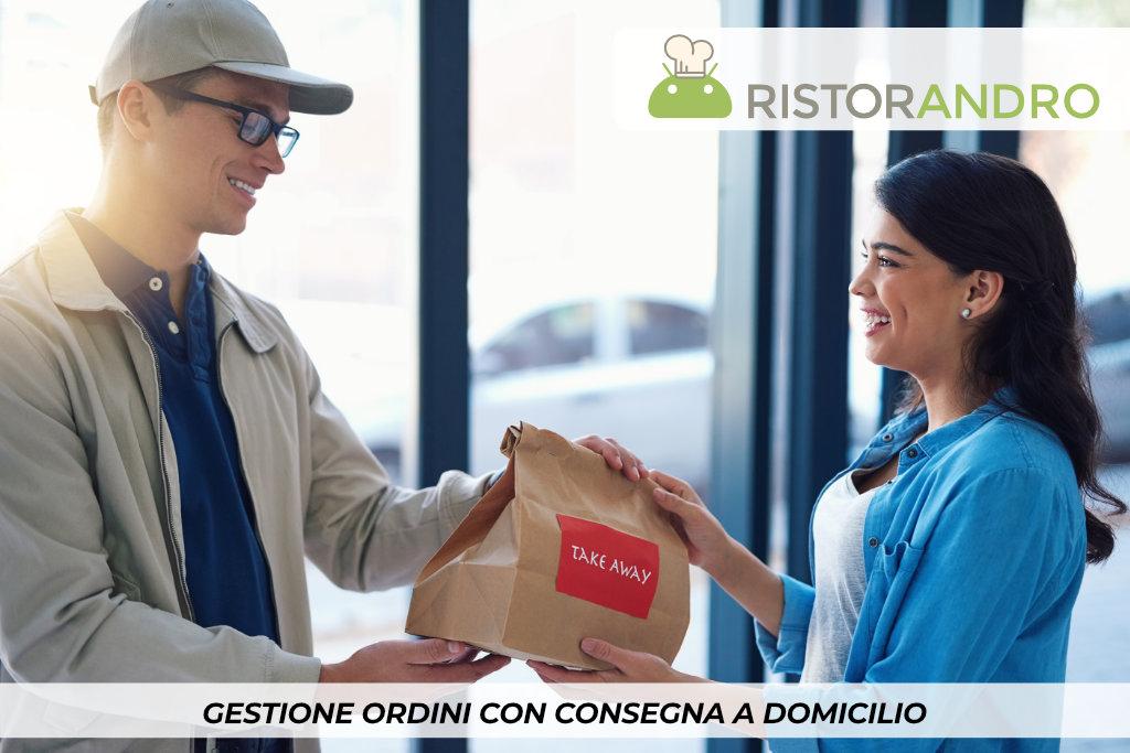 RistorAndro - Gestione ordini con consegna a domicilio