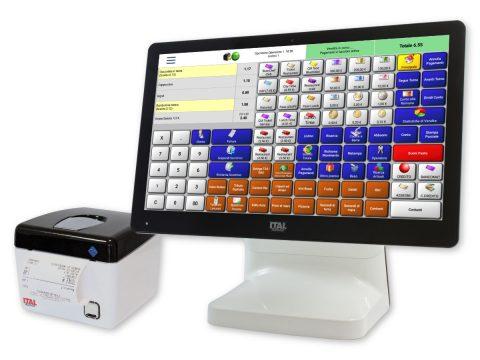 Italpos 85 con stampante telematica PR2 e software RistorAndro