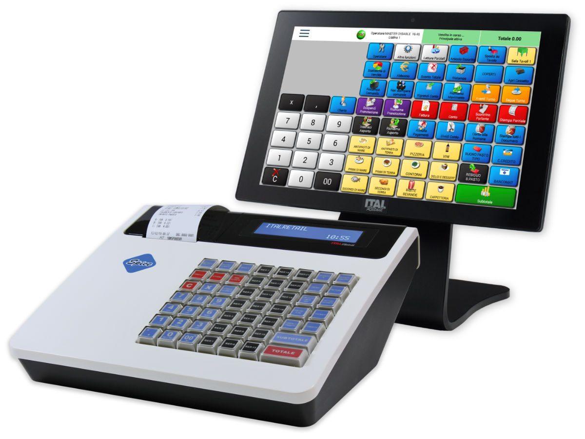 Registratore Telematico Spice con mini pos e software RistorAndro
